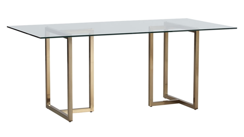 "Silverado 72"" Rectangular Dining Table + Reviews 