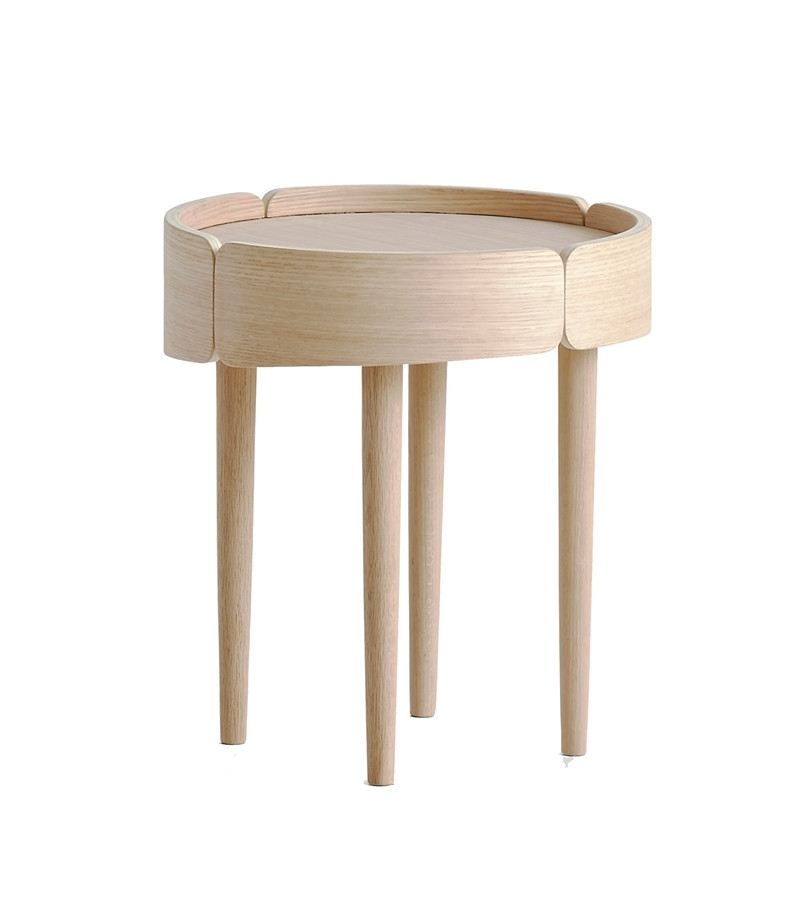 Skirt Coffee Table Small, Lacquer – Woud A/s Inside Kai Small Coffee Tables (Image 29 of 40)