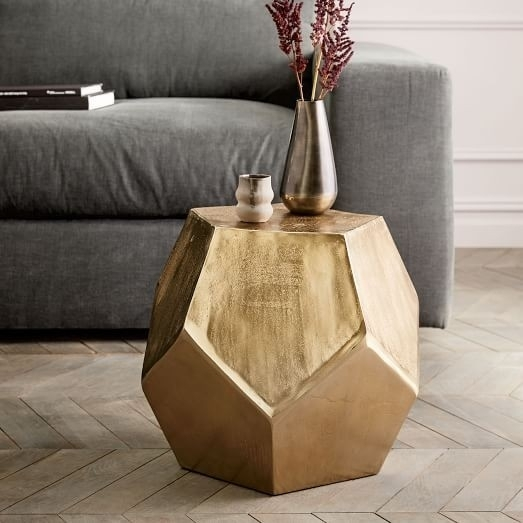 Slate Accent Table Fresh Round Silver Side Table Beautiful 20 Within Fresh Cut Side Tables (Image 32 of 40)