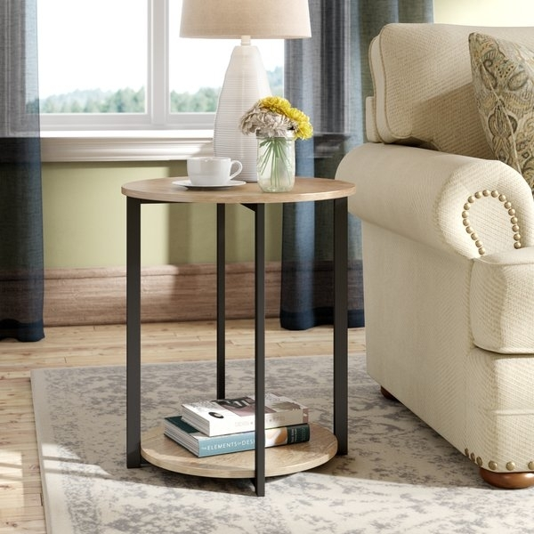 Small Low Side Table | Wayfair For Swell Round Coffee Tables (Image 35 of 40)