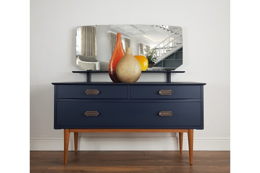 Small Mid Century Modern Dressing Tableharris Lebus | Vinterior In Mid Century Modern Egg Tables (Image 33 of 40)