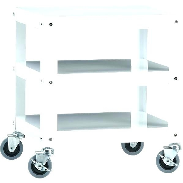 Small Rolling Side Table Rolling Coffee Table Christmas Decorations Inside Go Cart White Rolling Coffee Tables (View 11 of 40)