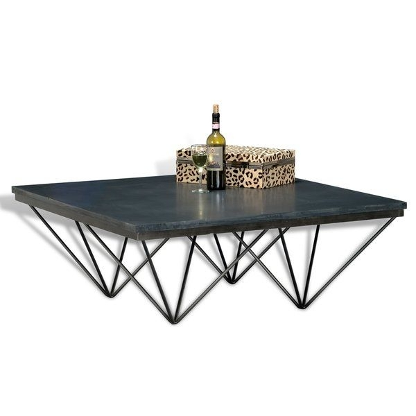 Smart Design And Imaginative And The Gray Stone Gives This Louvre With Inverted Triangle Coffee Tables (View 8 of 40)