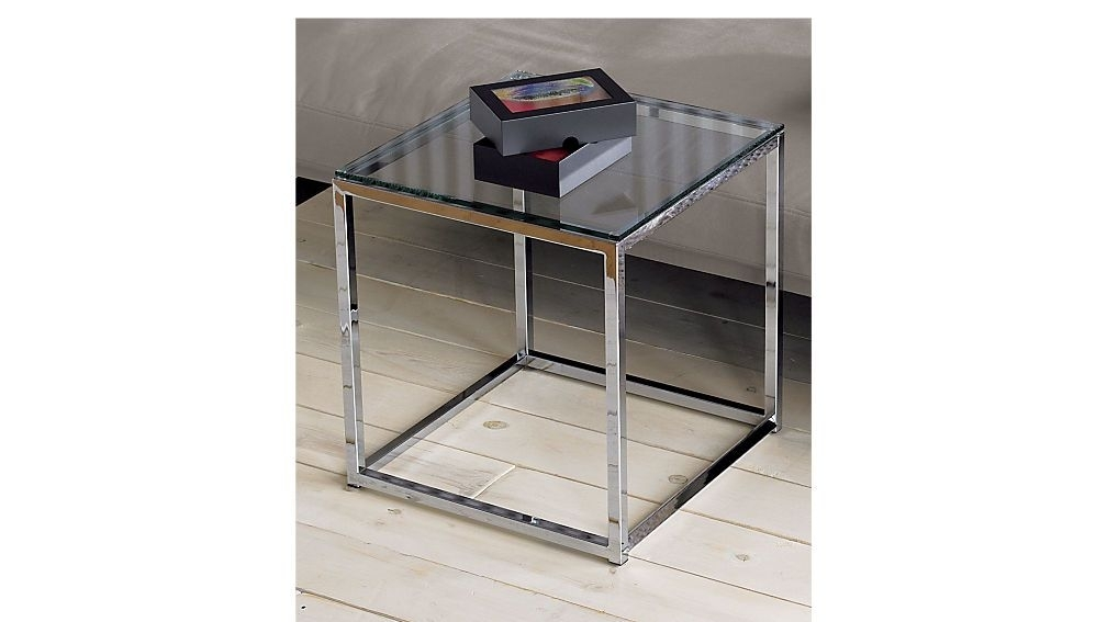 Smart Glass Top Side Table | Glass Top Side Table, Smart Glass And Throughout Smart Glass Top Coffee Tables (View 2 of 40)