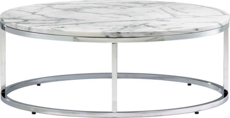 Smart Round Marble Top Coffee Table | Living Room/dinning Room With Smart Round Marble Top Coffee Tables (Image 31 of 40)
