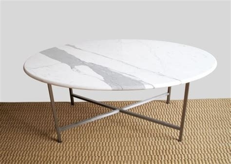 Smart Round Marble Top Coffee Table Reviews Cb2, White Marble Top Within Smart Round Marble Top Coffee Tables (Image 37 of 40)
