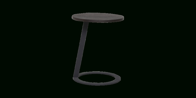 Smoked Oak Bud Side Stand Table | Script Online Throughout Smoked Oak Side Tables (Image 34 of 40)