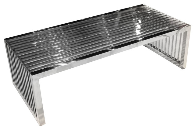 Soho Rectangular Cocktail Table – Contemporary – Coffee Tables – In Felicity Cocktail Tables (Image 36 of 40)