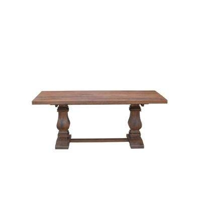 Solid Wood – Kitchen & Dining Tables – Kitchen & Dining Room Intended For 33 Inch Industrial Round Tables (Image 36 of 40)