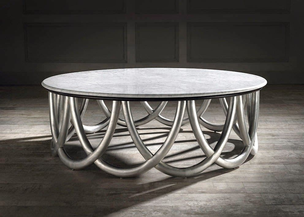 Spanish Coffee Table In Silver, Spanish Style Furniture And Pertaining To Spanish Coffee Tables (View 16 of 40)