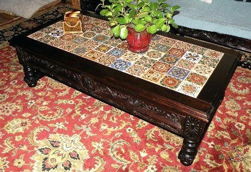 Spanish Coffee Table Renaissance Architectural Coffee Tables With With Spanish Coffee Tables (View 5 of 40)