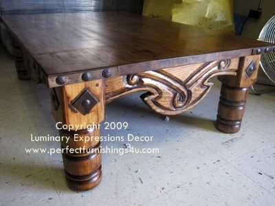 Spanish Colonial Coffee Tables, Southwestern Coffee Tables All For Spanish Coffee Tables (View 30 of 40)