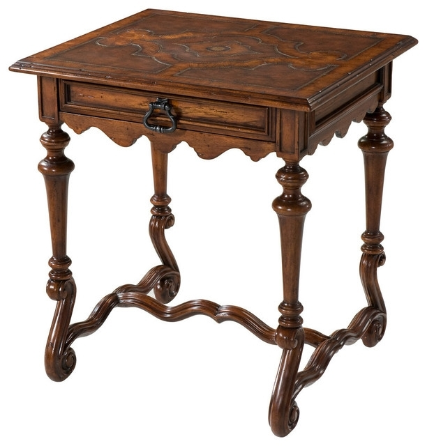 Spanish Style End Tables | Revolutionhr With Regard To Spanish Coffee Tables (View 40 of 40)
