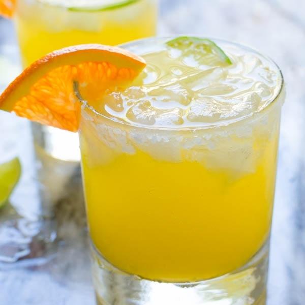 Sparkling Cara Cara Margaritas | Garlic & Zest For Cara Cocktail Tables (Image 38 of 40)