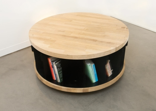 Spinning Librarynayef Francis – Design Milk With Spin Rotating Coffee Tables (Image 33 of 40)