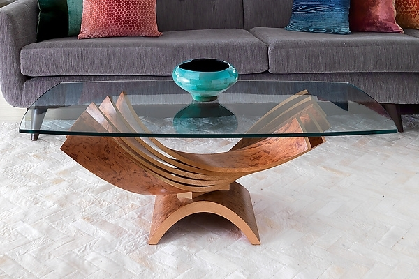 Spiral Cocktail Tableblaise Gaston (Wood Coffee Table) | Artful Home For Stratus Cocktail Tables (View 9 of 35)