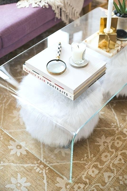 Square Acrylic Coffee Table Acrylic Table With Glass Coffee Table Inside Modern Acrylic Coffee Tables (Image 37 of 40)