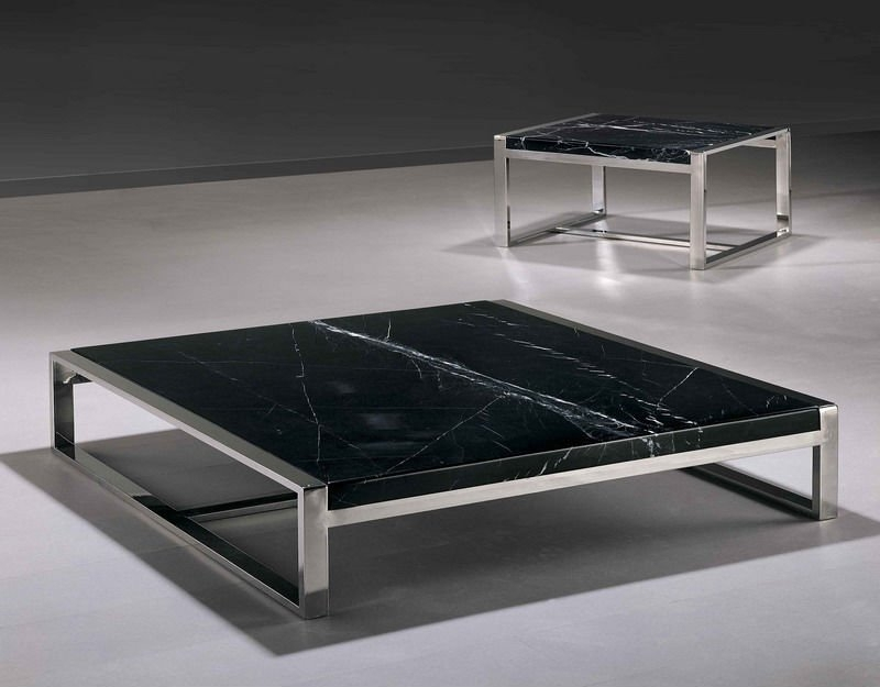 Square And Conner )Modern Marble Coffee Table Setct01S – Buy Coffee For Modern Marble Iron Coffee Tables (Image 35 of 40)