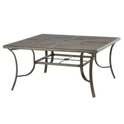 Square – Patio Dining Tables – Patio Tables – The Home Depot With Wilshire Cocktail Tables (Image 21 of 35)