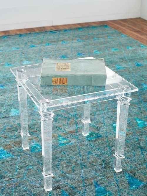 Stately Acrylic Side Table | Shop Now! | Furniture | Side Tables Throughout Stately Acrylic Coffee Tables (View 2 of 40)