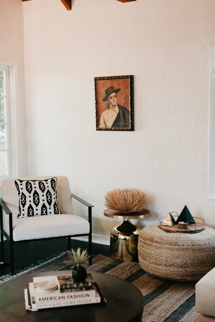 Step Inside The Pinterest Worthy La Home Of Jaclyn Johnson | Glitter In Darbuka Brass Coffee Tables (Image 39 of 40)