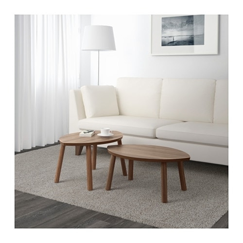 Stockholm Nesting Tables, Set Of 2 – Ikea In Set Of Nesting Coffee Tables (View 15 of 40)