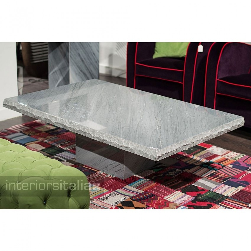 Stone International Marble Coffee Tables | Interiors Italia With Regard To Chiseled Edge Coffee Tables (View 19 of 40)