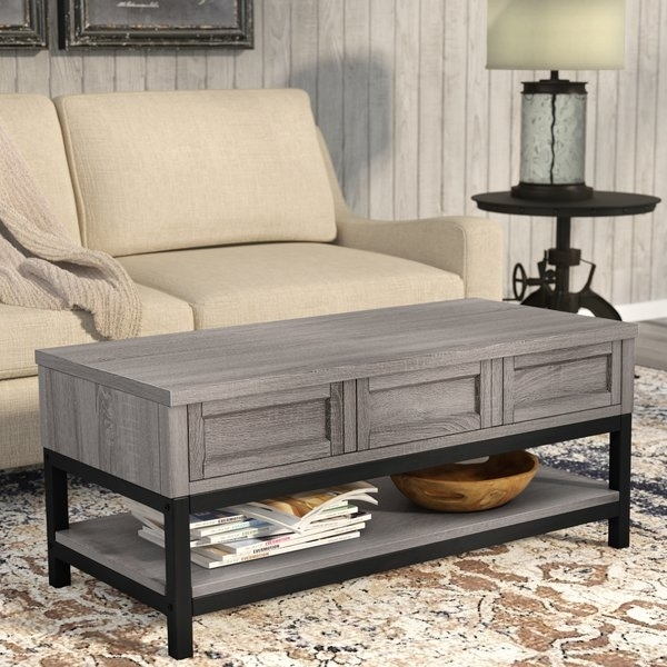 Stone Top Coffee Table | Wayfair With Recycled Pine Stone Side Tables (View 36 of 40)
