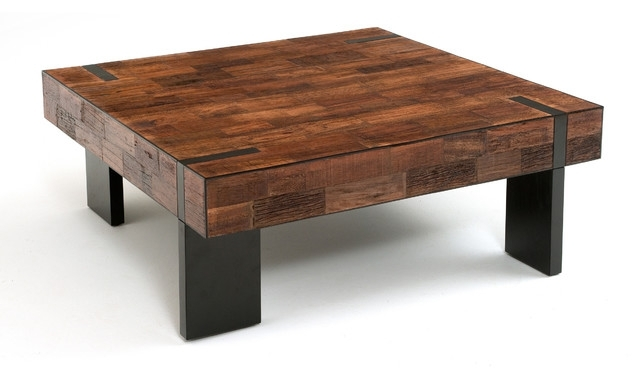 Stylish Rustic Contemporary Coffee Table With Rustic Modern Coffee Within Modern Rustic Coffee Tables (View 2 of 40)
