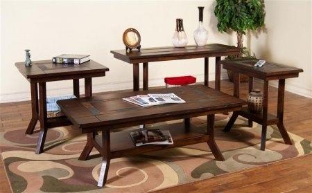 Sunny Designs 3175Dc Cskit2 Santa Fe Coffee Table With Chair Side Regarding Santa Fe Coffee Tables (View 25 of 40)