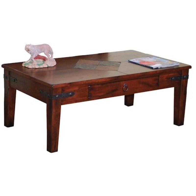 Sunny Designs Occasional Tables Santa Fe 3160Dc C Coffee Table Within Santa Fe Coffee Tables (View 29 of 40)