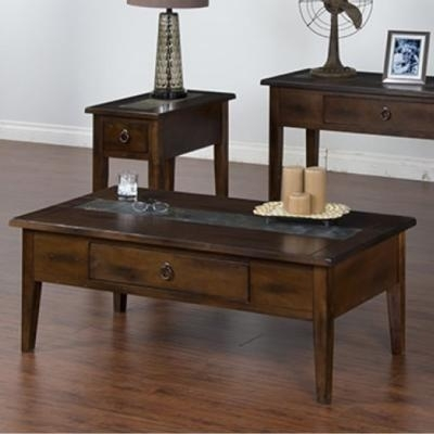 Sunny Designs Occasional Tables Santa Fe 3176Dc C Coffee Table Throughout Santa Fe Coffee Tables (View 37 of 40)