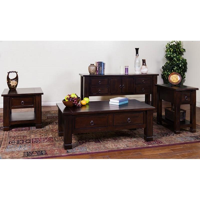 Sunny Designs Santa Fe Coffee Table | 3133Dc | Tables | Douglas For Santa Fe Coffee Tables (View 24 of 40)