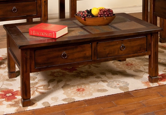 Sunny Designs Santa Fe Coffee Table – Harrington Home Furniture Inside Santa Fe Coffee Tables (View 2 of 40)