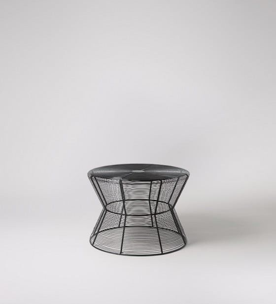 Swoon Editions Helix Coffee Table: Black Wire (Image 31 of 40)