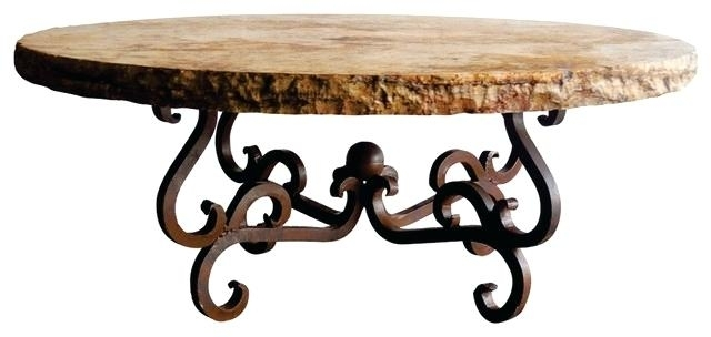 Table: 48 Round Coffee Table With Regard To Chiseled Edge Coffee Tables (View 6 of 40)
