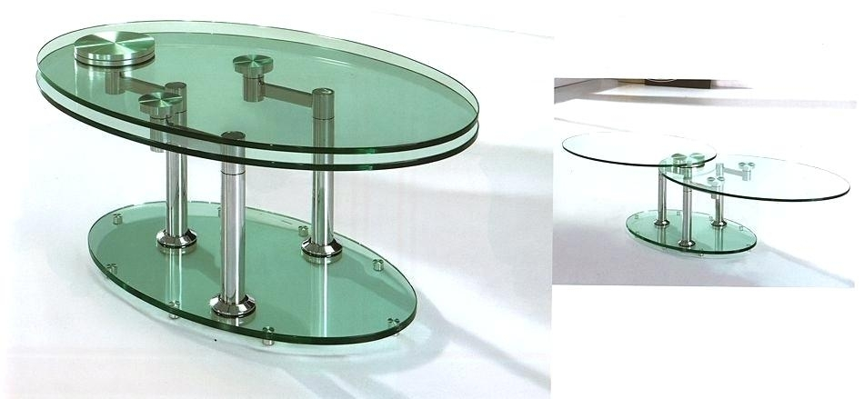 Table: Coffee Table Spinning Glass (Image 36 of 40)