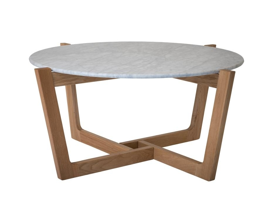 Table Hire | Monterey Marble Top Coffee Table 910Mm Dia Inside Brisbane Oval Coffee Tables (Image 35 of 40)
