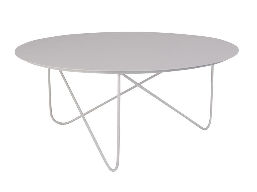 Table Hire | Zaggy Indoor Outdoor Metal Coffee Table 900Mm Dia X With Brisbane Oval Coffee Tables (Photo 15 of 40)