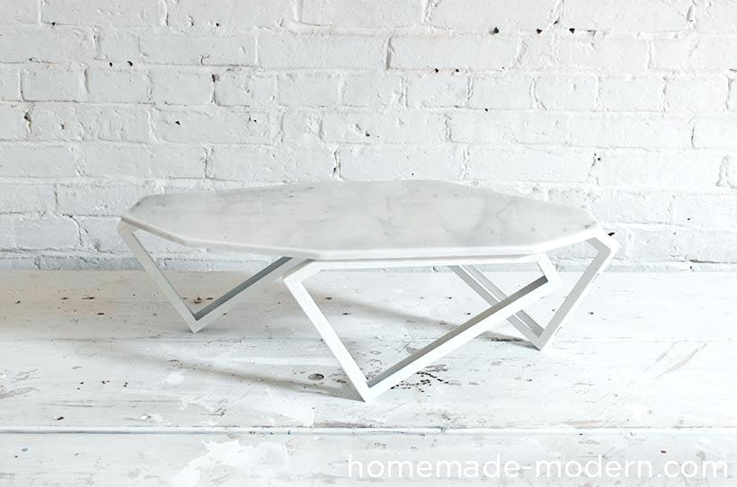 Table: Marble Coffee Table Inside Modern Marble Iron Coffee Tables (Image 36 of 40)