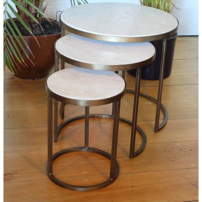 Table Nests Coffee Table White Marble Nesting Coffee Tables Madam For Set Of Nesting Coffee Tables (View 23 of 40)
