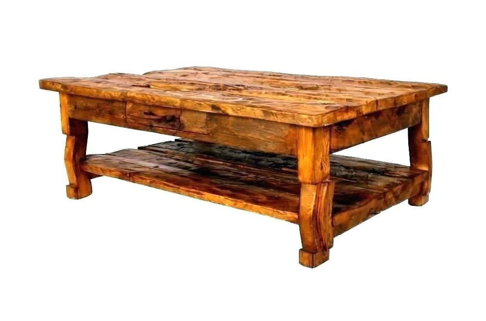 Table: Old Wood Coffee Table Wooden Tables Rustic Fashioned White Throughout Vintage Wood Coffee Tables (Image 22 of 40)