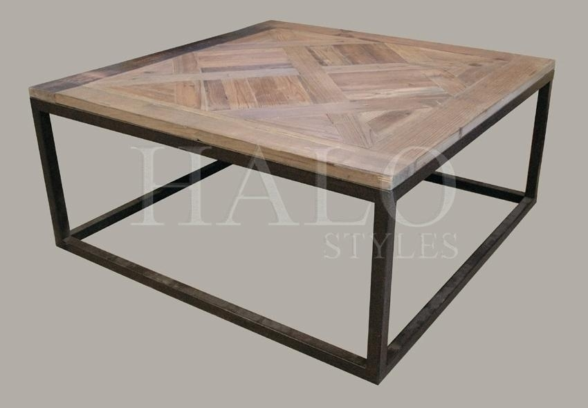 Table: Parquet Coffee Table Regarding Parquet Coffee Tables (Image 40 of 40)