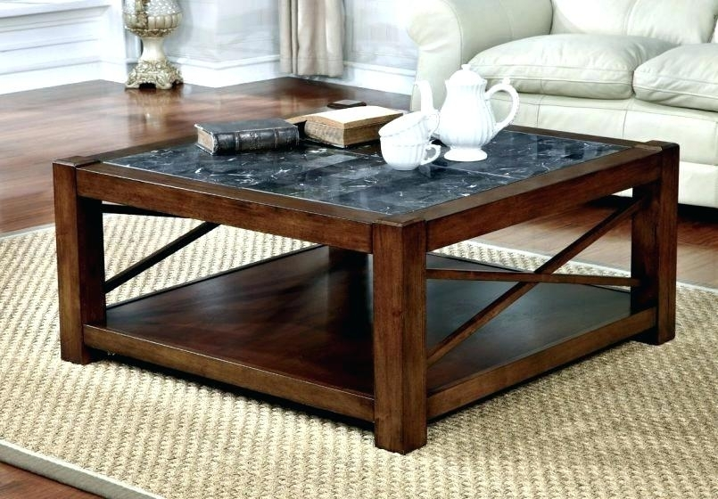 Table: Rustic Glass Coffee Table Mirrored Ottoman Oval Griffin Intended For Rectangular Barbox Coffee Tables (Image 27 of 40)