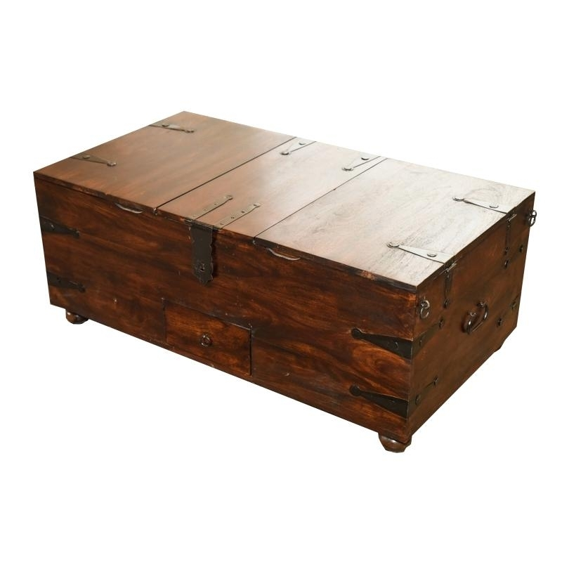 Table: Trunk Coffee Table Reviews Thakat Bar Box (Image 31 of 40)