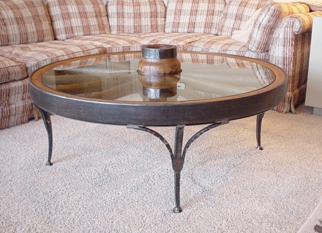 Tables – North Shore Iron Works Pertaining To Iron Wood Coffee Tables With Wheels (View 20 of 40)