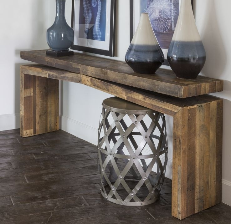 Tahoe Ii Console Table In 2018 | Eye Catching & Unique Wood For Tahoe Ii Cocktail Tables (Photo 22 of 40)