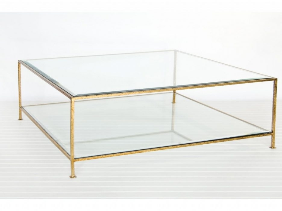 Tanner Coffee Table Round Marble Top Coffee Table Baker Coffee Table Regarding Acrylic Glass And Brass Coffee Tables (Photo 27 of 40)