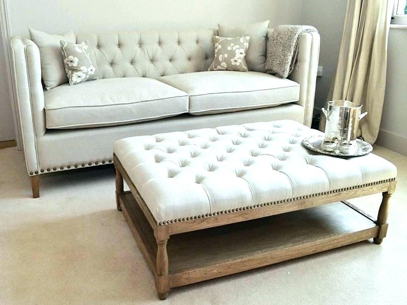 Target Tufted Ottoman Oversized Tufted Ottoman Extra Large Coffee For Button Tufted Coffee Tables (View 40 of 40)