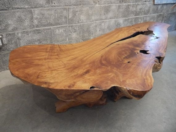 Featured Image of Live Edge Teak Coffee Tables
